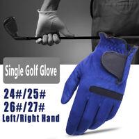 Anti-skid Men's Golf Gloves Breathable Microfiber Right Left Hand All