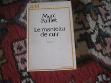 Marc PAILLET: le manteau de cuir