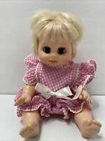 "VOGUE Baby Girl Doll Vintage 1975 13"" Long Drinks Wets Sleep Eyes"