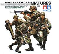 Tamiya 35133 Modern US Army Infantry 1/35 Scale Plastic Model Figures Kit