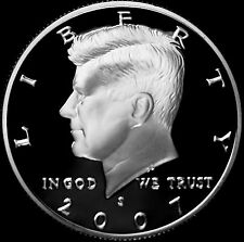 2007 S  Kennedy Mint Silver Proof Half Dollar from Original Silver Proof Set