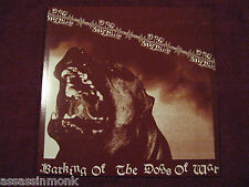 DOG SOLDIER Barking Of The Dogs Of War LP PDX Blood Spit Nights Defiance