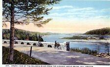 schöne AK Amerika, Grand view Columbia river above Bridal Veil, Oregon