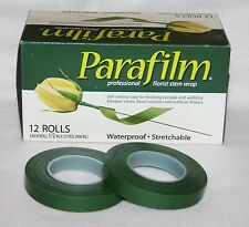 Parafilm Waterproof plastic green or white florist stem tape floral flower craft