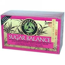 Triple Leaf Tea, Sugar Balance & Women's Tonic Tea, 20 tea bags