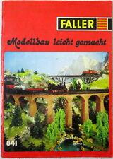 FALLER Modellbau leicht gemacht Ratgeber Anleitung 841 Info Material