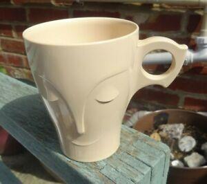 Vintage 1950 s Cadburys Bourn vita plastic mug with sleeping face