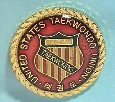 United States Taekwondo Union Usa Lapel Pin