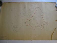 ROMA Mappa Catastale 1185 ARDEATINA PRATICA DI MARE STAZIONE PAVONA ALBANO 1943