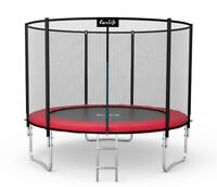 Trampoline 10FT Premium 312cm+ Safety Net Enclosure Ladder Spring Cover Pad 2020