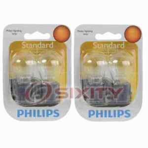 2 pc Philips Brake Light Bulbs for Saturn L100 L200 L300 LS LS1 LS2 LW1 LW2 up