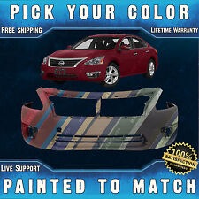 New Painted to Match - Front Bumper Cover for 2013 2014 2015 Nissan Altima Sedan