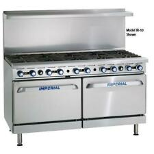 Imperial Ir 12 Cc 72 In 12 Burner Gas Range With Convection Ovens