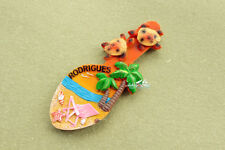 MAURITIUS RODRIGUES Tourist Travel Souvenir 3D Resin Fridge Magnet Craft GIFT