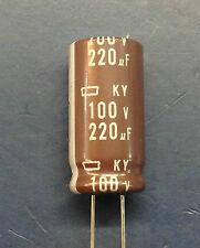 5 x NIPPON CHEMI-CON 220uF 100V KY