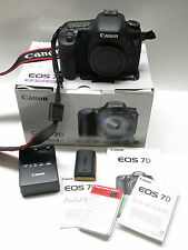 Canon EOS 7D Digital SLR Camera -Low Shutter Count 1972 - Near mint shape!