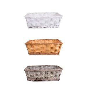 Wickerfield Make Your Own Gift Hamper Wicker Wine Basket Xmas Gift Set