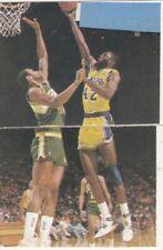 JAMES WORTHY LA LAKERS NBA - UNUSED STICKER #182 - KOS EDITION Yugoslavia 1989
