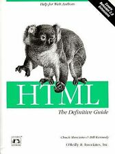 HTML : Help for Web Authors by Chuck Musciano and Bill Kennedy (1996, Paperback)