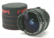 Sigma -Fisheye 2,8/16mm Filtermatic Multi-Coated Lens f/Minolta MF. Japan. Clean