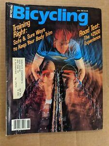 Bicycling Magazine June 1983 Training Right M399