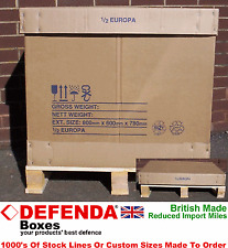 Wooden Shipping & Moving Boxes