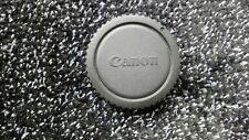 2x Black twist on plastic Canon Lens Cap *bundle* - 092a