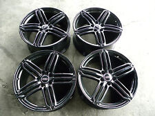 19 GLOSS BLACK AUDI  TT A4 S4 A6 S5 S6 Q5 Q3  OEM Original Wheels Rims S-LINE