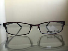 bagsclothesetc: NEW PERRY ELLIS PE233 Unisex Brown/Black Metal Eyeglass Frames