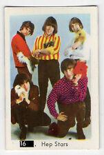 1960s Swedish Pop Star Card #16 Pre Abba Benny Hep Stars Beatles Sectional Back