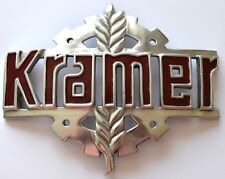 Zeichen für Kramer für die Motorhaube Traktor Schlepper gewölbt Emblem     16080