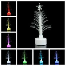 Colorful LED Fiber Optic Nightlight Christmas Tree Lamp Light Children Xmas
