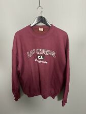 GILDAN LA Retro Sweatshirt - Size XL - Burgundy - Great Condition - Mens