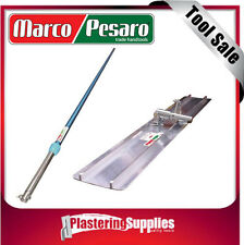 Marco Pesaro Aluminium Bull Float 1200mm with Pole Handle Combo  Concrete Trowel