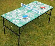 Mini Midi-Tischtennistisch kleiner TT-Tisch Midsize 152 x 76 x 76cm