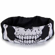 Bandana Skull  Bike Motorcycle Helmet Hood Ski Sport Neck Face Mask Headband