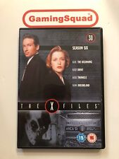 The X Files Disc 30 Season 6 Episodes 4 DVD, Supplied by Gaming Squad Ltd