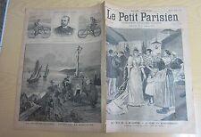 Le petit parisien 1893 214 Le reine des blanchisseuses course vélocipédique 1000