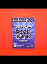 ROCK BAND : Song Pack 1 - Jeu PS2 Neuf - (PlayStation 2 Blister) -