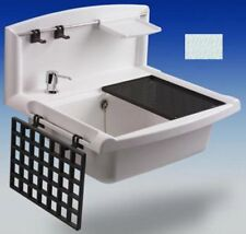 Ausgussbecken Kunststoff Waschbecken Handwaschbecken Spüle Spülbecken Gastro