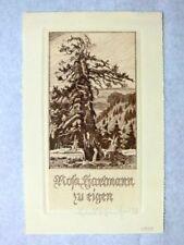 EXLIBRIS   H. SCHAEFER  OPUS 117  1938