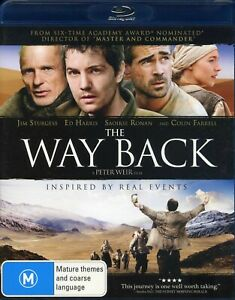 The Way Back (Blu-ray, 2011) Peter Weir, Gulag labour camp, like new