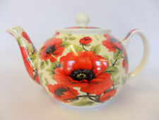 Poppy design 2 cup teapot by The Abbeydale collection.