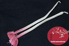 HAORI HIMO KIMONO JAPANESE ACCESSORY SILK SOIE MADE IN JAPAN JAPANISCH JAPANSKE