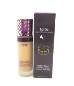 Tarte Shape Tape Matte Foundation ~ Medium Sand ~ 30 ml 1.01 oz ~ BNIB