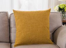 Хлопковая, льняная наволочка диван талии подкладываемую подушку твердая обложка домашний декор