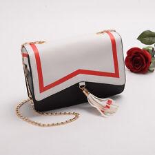 Anime Cardcaptor Sakura Uniform Tassel Contrast Color Crossbody Bag Shoulder Bag