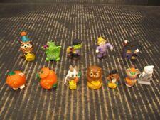 Hallmark Merry Miniatures Lot of 12 Different Loose Halloween Figures