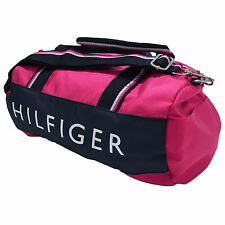 Tommy Hilfiger Mini Duffel Bag Unisex Mens Womens Children Shoulder Duffle Gym