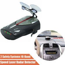 "1.5"" LED Screen 16-Band 12V Auto Car Speed GPS Laser Voice Alert Radar Detector"